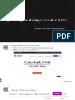 Ingreso a campus virtual UC - WPS