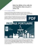 Comment réduire les délais et les coûts de passage des marchandises dans un port à l.docx