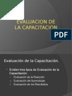 14d. Evaluacion de la Capacitacion