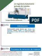 Tema 0_4 Maquinado metales-Procesos de manufactura