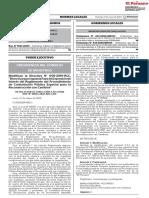 02 Aprueban modificación de las Bases Estándar para los procedimientos de selección de bienes servicios en general consultoría en general consultoría de obra ejecución de obras y concurso
