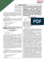 05 Designan Directora la Oficina de Contabilidad de la Oficina General de Administración del Ministerio