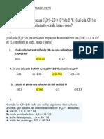 RESOLVER LOS EJERCICIOS DE PH 2018 II