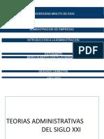TEORIAS DE LA ADMINISTRACION MARIO CASTILLA