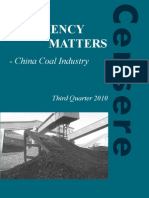 China Coal Research 3Q10