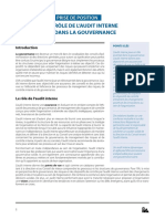 Internal Auditings Role in Corporate Governance FRE