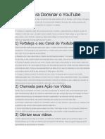 6 dicas para dominar o youtube