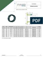 Adaptador de Brida Quick DN 350-1000 PFA 16 (sp)