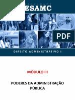 Material de Apoio_Direito Administrativo I_Módulo III