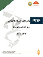 AJUSTE PLAN ESTRATEGICO 2018-2019