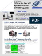 Product bulletin:Water cooled Screw_003EN 30XW-V Danfoss VFD Improvement and Controller Upgrade