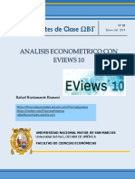 Apuntes de Clase  Eviews 10 - Capitulo I