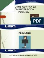 DELITOS CONTRA LA ADMINIDTRACION PUBLICA