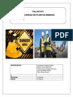 Taller 5 Seguridad en Plantas Mineras