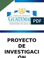 Presentación Proyecto de investigación-acción