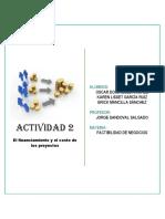 ACT 2 Factibilidad de Negocios