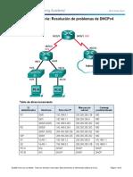 8.1.4.4 Lab - Troubleshooting DHCPv4