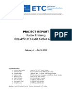 April 2012 - ETC RoSS - Radio Training report_0
