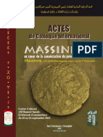 Actes colloque international Massinissa