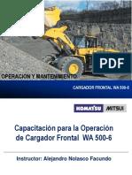 CURSO CARGADOR FRONTAL WA 500-6