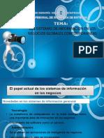 Los Sistemas de Informacion en Los Negocios Globales Ppt 1