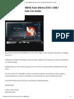 Pioneer AVH-X8500BHS Auto Stéreo DVD _ USB _ Bluetooth _ AudioNuts Car Audio