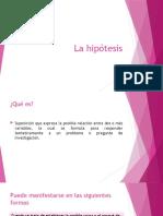 La hipótesis.pptx
