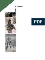 Ergonomics in Defence