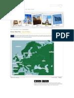 Europa_ Mapa físico - Juego de Mapas