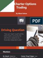 kihei charter options trading