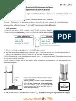 Cours - Chimie ESTERIFICATION - Bac Sciences exp (2011-2012) Mr TLILI TOUHAMI (1)