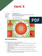 patient x design document
