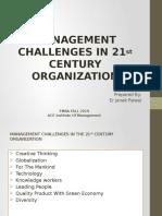 Management Challanges In 21st Century Organization.pptx