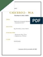 DENER BUSTAMANTE - CALCULO II