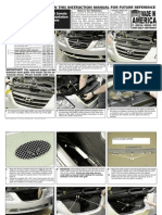 2009 Up Hyundai Sonata Grille Installation Manual Carid
