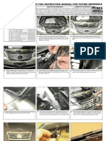 2010 Up Lexus Es Grille Installation Manual Carid