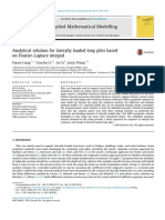 Analytical Solution for Laterally Loaded Long Piles Based on Fourier Laplace Integral 2014.pdf
