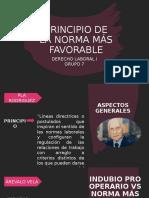 DIAPOSITIVA - NORMA MÁS FAVORABLE