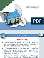 17.1 ELECTROCIRUGIA