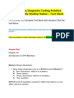 The Complete Diagnosis Coding Solution 3rd Solution by Shelley Safian – Test Bank