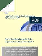 AdmSeguridadSQLServer2000