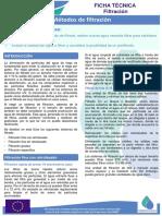Métodos de filtración (compat. Ecológico)