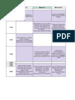 Agenda Lunes 30 Marzo al de 4 Abril 2020