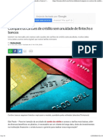 Compare os cartões de crédito sem anuidade de fintechs e bancos _ EXAME