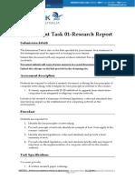 BSBITB511- Assessment Task - 01
