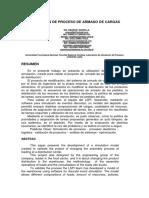 ABSTRACT - SIMULACION DE PROCESO ARMADO DE CARGAS - V8