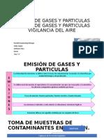 EMISION DE GASES Y PARTICULAS EMISION DE GASES pg 1-5