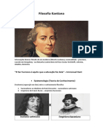 Filosofia Kantiana