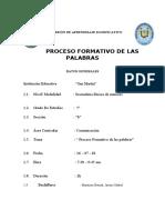 PROCESO FORMATIVO DE LAS PALABRAS-08-05-19