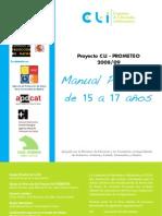Proyecto CLI - PROMETEO Manual 15-17 Caste Llano